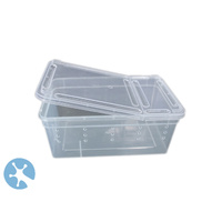 Live Reptile & Feeder Storage Box | Ventilated