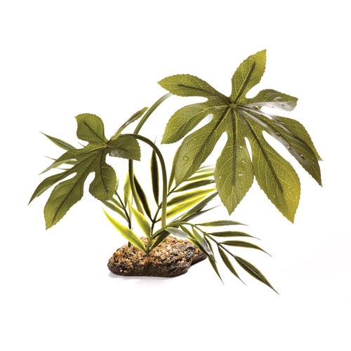 Komodo Artificial Plant Jungle Canopy | 42cm | Reptile Terrarium Artificial Plant