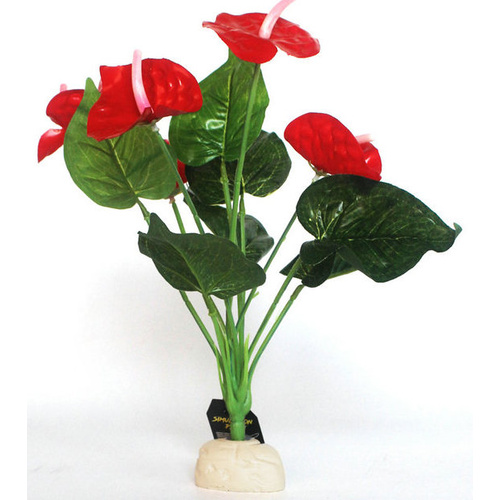 Red Anthurium Artificial Plant | NFF-16